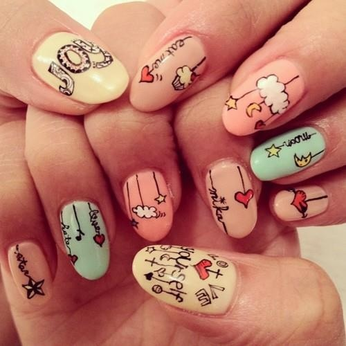 Top Trending Nail Designs Of 2014 Blakedimitridelrosario